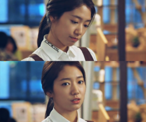 korean girl, sad, and kdrama image
