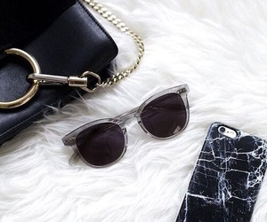 black, bag, and chic image