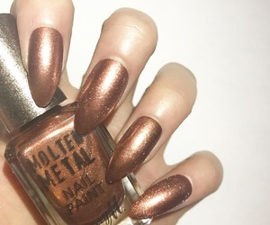 barry m, copper, and fashion image