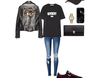 leather, Polyvore, and sporty image