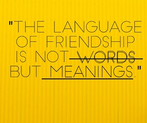 friendship, words, and quotes image