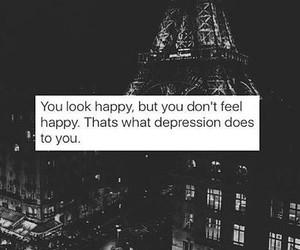 depression, sad, and happy image