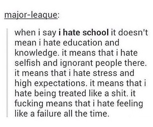 school and failure image