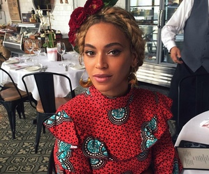 beyoncé, red, and Queen image