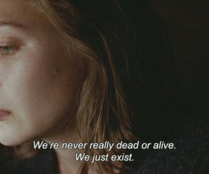 quotes, alive, and dead image