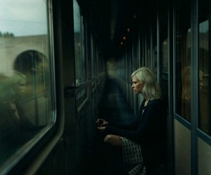 train, green, and slytherin image