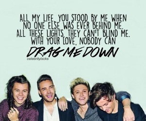 one direction, drag me down, and liam payne image