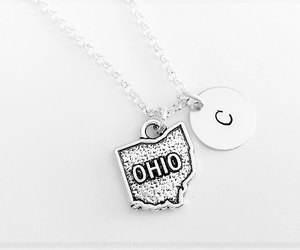 etsy, custom necklace, and friendship necklace image