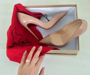 fashion, style, and louboutin image