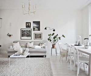 home, living room, and style image