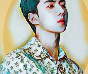 exo, ohsehun, and kpop image