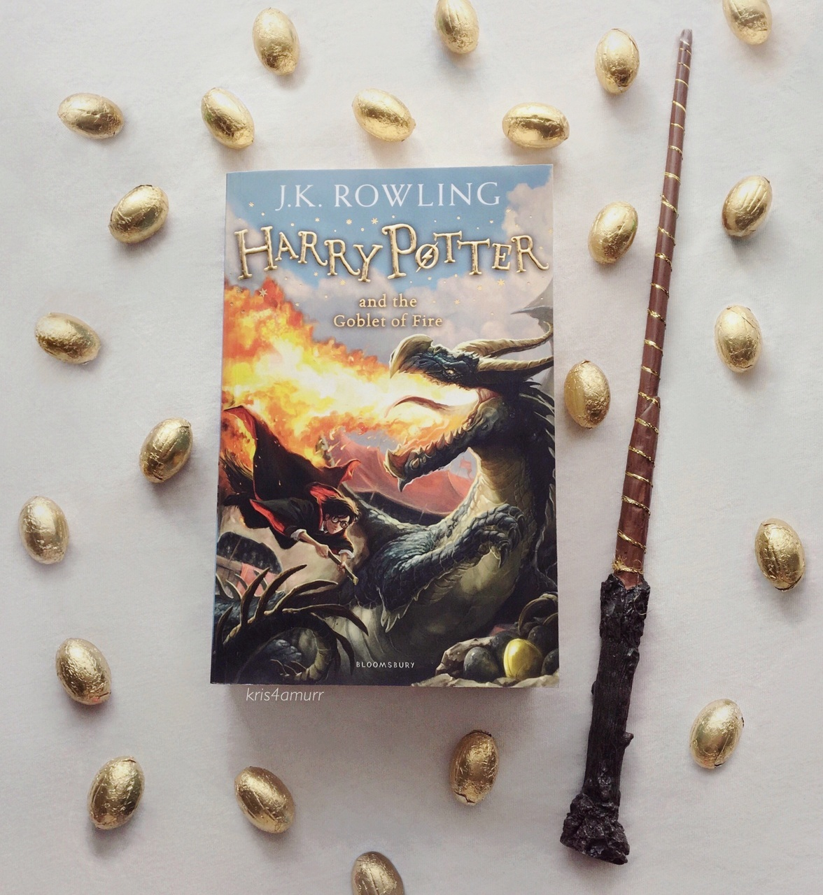 book, harry potter, and goblet of fire image