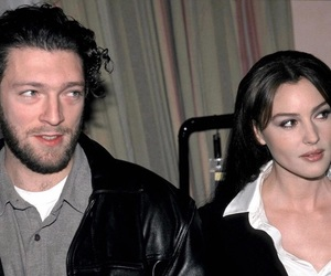 actor, monica bellucci, and Vincent Cassel image