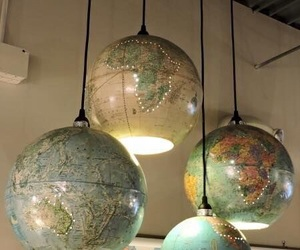 diy, earth, and globes image