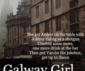 divide, music, and galway girl image