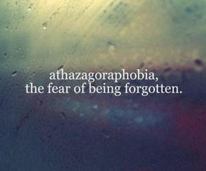 fear, forgotten, and text image