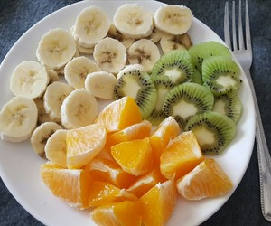 breakfast, tropical, and fruit image