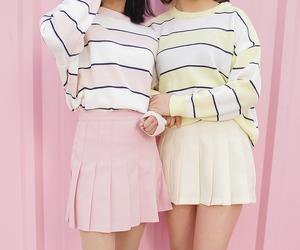 korean fashion and style image
