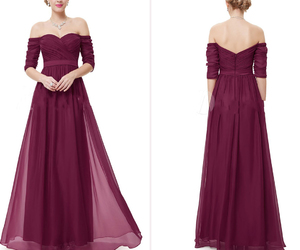 prom dresses, wedding dresses, and party dresses image
