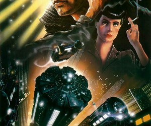 blade runner, harrison ford, and sci-fi image