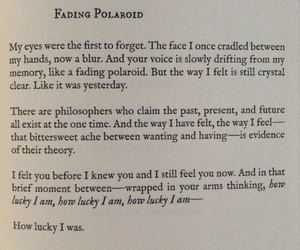 Lang Leav, poetry, and polaroid image