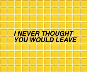 yellow, aesthetic, and quote image