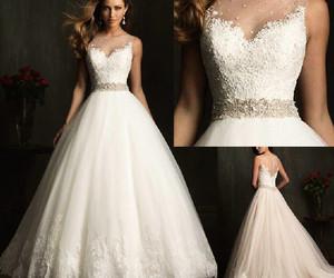 wedding, fashion, and bride image