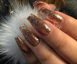 furry, nails, and gold image