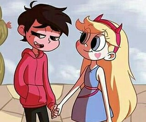 star butterfly, marco diaz, and starco image
