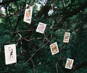 cards, tree, and photography image