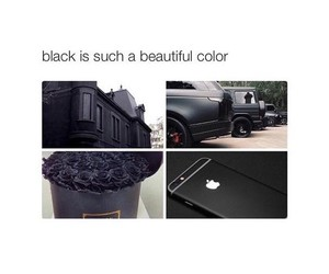 black, car, and iphone image