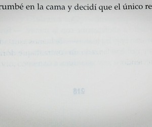 frases, book, and dormir image