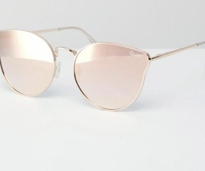 sunglasses and rose gold image