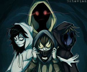 hoodie, creepypasta, and jeff the killer image