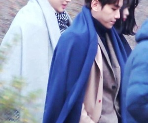 baekhyun, exo, and suho image