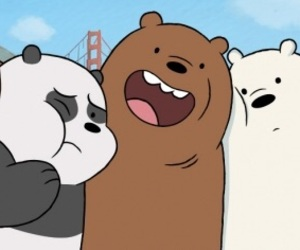 bears, cartoon, and cartoon network image