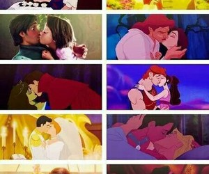 disney, kiss, and love image