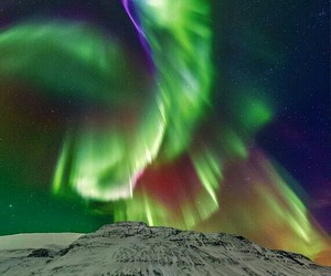 aurora, nature, and nothern lights image