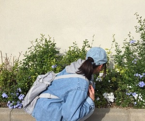 aesthetic, flowers, and tumblr image