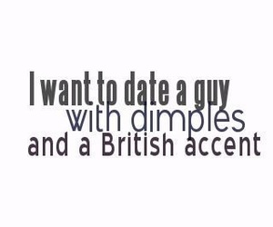 british, dimples, and accent image