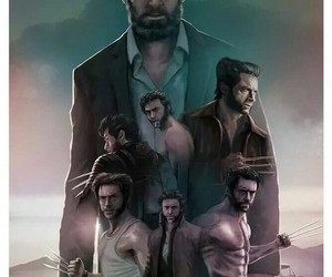 hugh jackman, logan, and Marvel image