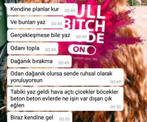 turk, hayat, and mesaj image