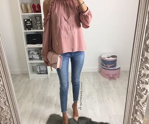 denim, jean, and outfit image