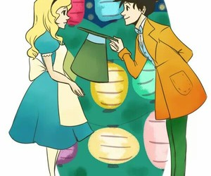 percabeth, wonderland, and percy jackson image
