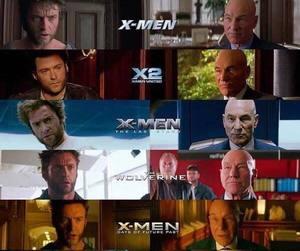 hugh jackman, x-men, and charles xavier image