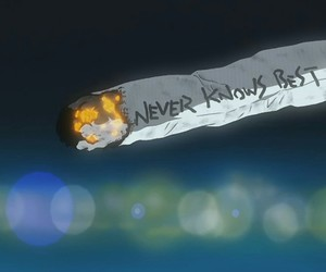anime, flcl, and cigarette image