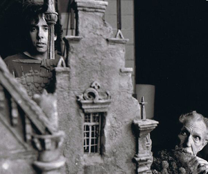edward scissorhands, tim burton, and vincent price image