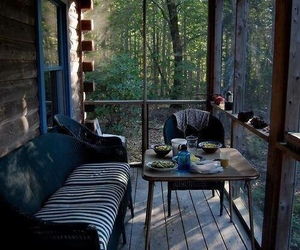 forest, home, and nature image