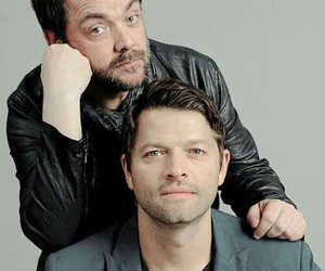 supernatural, misha collins, and castiel image