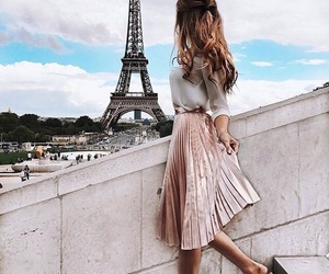 fashion, paris, and style image